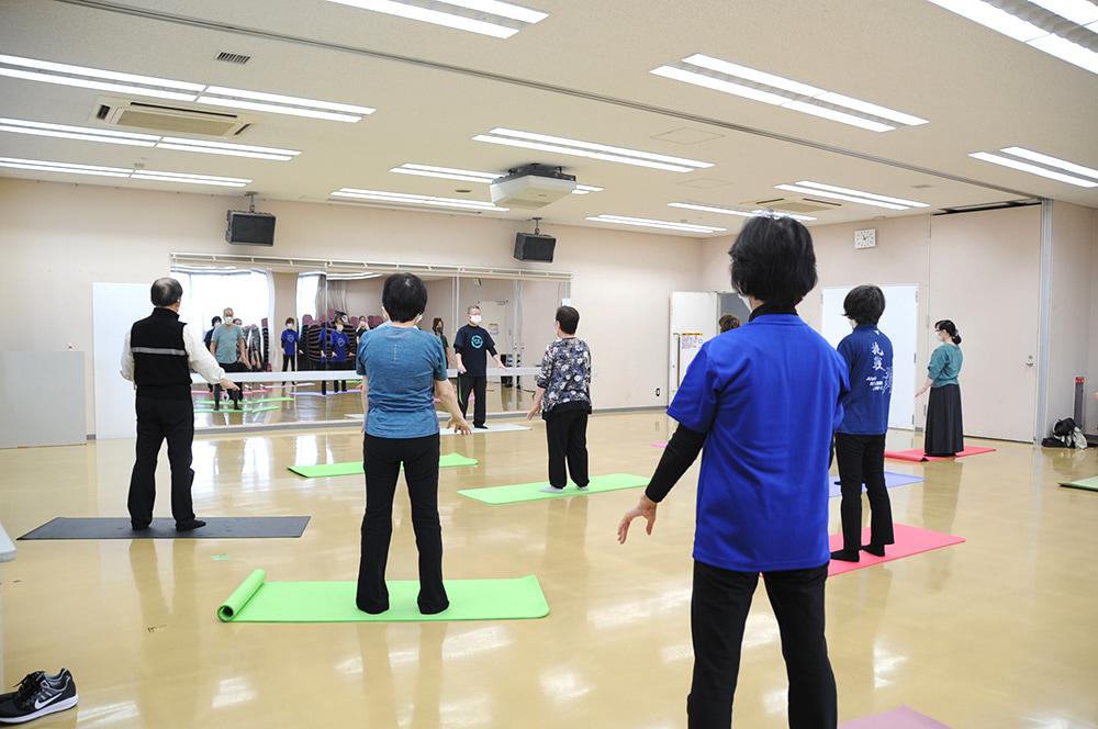 氣功太極拳教室(水曜クラス)