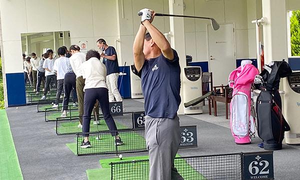 月曜ゴルフ教室