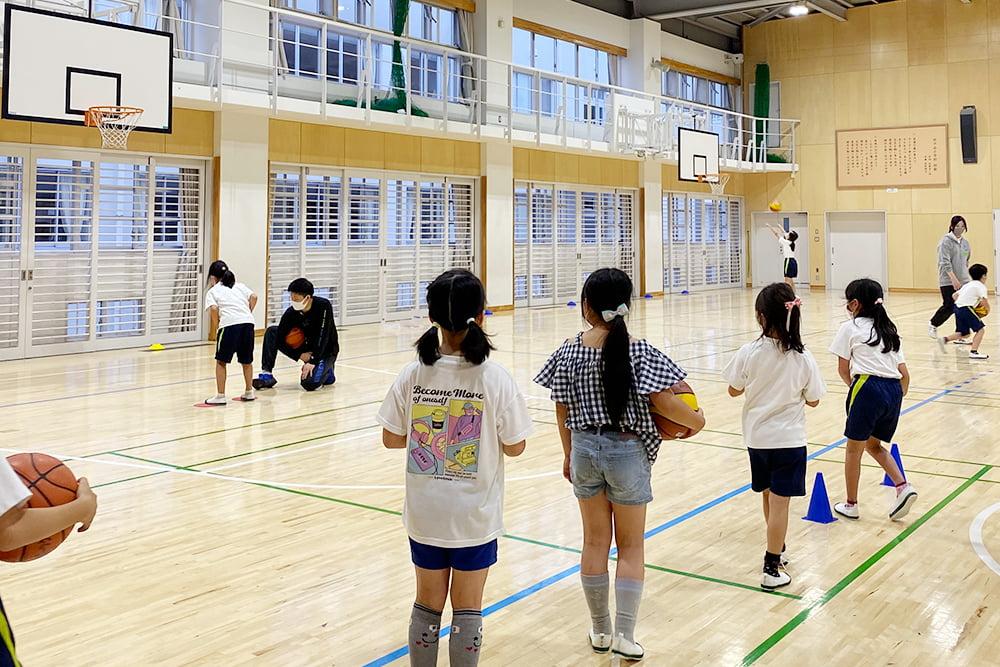 日進市スポーツ推進協議会モデル事業 小学生のためのやってみよう教室