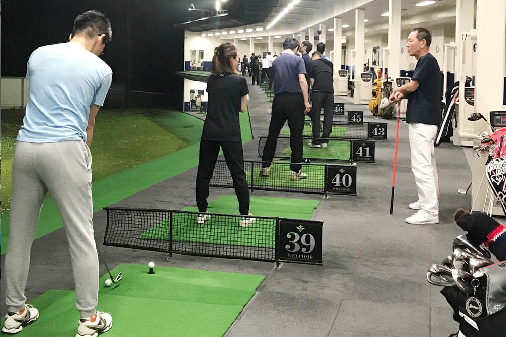 金曜ゴルフ教室