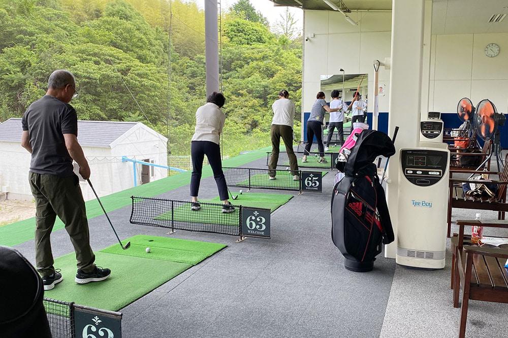 土曜ゴルフ教室