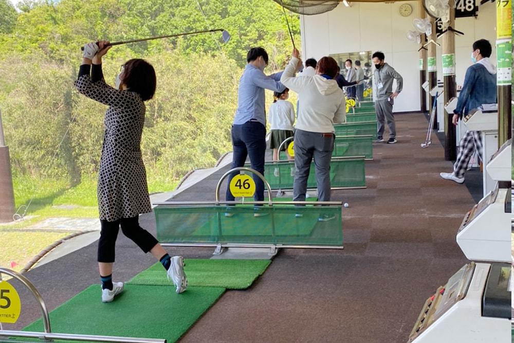 日曜ゴルフ教室